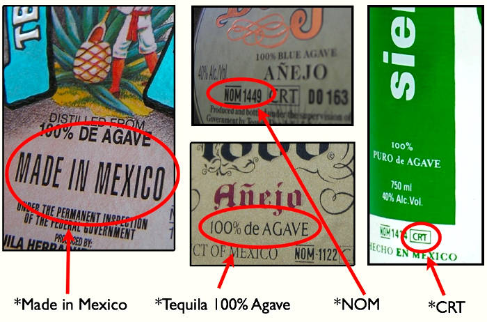 NOM-006-SCFI-2012-Tequila